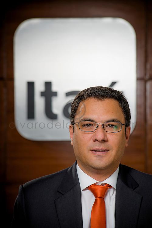 Christian Tauber Domínguez, Gerente Banca Corporativa, Banco Itaú. Santiago de Chile. 26-03-2014 (Alvaro de la Fuente/Triple.cl)