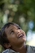 Aquidauana_MS, Brasil...Rosto de uma crianca na fazenda Rio Negro no Pantanal...A child face in Rio Negro farm in Pantanal...Foto: JOAO MARCOS ROSA / NITRO