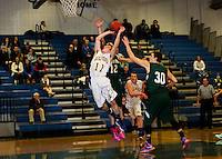 Boys varsity basketball Gilford versus Raymond NHIAA Division III Tuesday, January 21, 2015.  Karen Bobotas for the Laconia Daily Sun