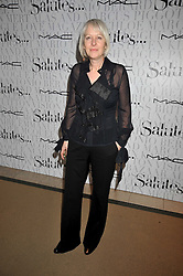 HILARY RIVA at the MAC Salutes party paying tribute to renowned makeup artists held at The Hosptal, Endell Street, London on 22nd February 2009.