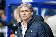 Charlton Athletic interim head coach Jose Riga before the Sky Bet Championship match between Queens Park Rangers and Charlton Athletic at the Loftus Road Stadium, London, England on 9 April 2016. Photo by Andy Walter.