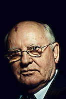 Former Soviet Leader Mikhail Gorbachev in Washington, DC on March 19, 2010.