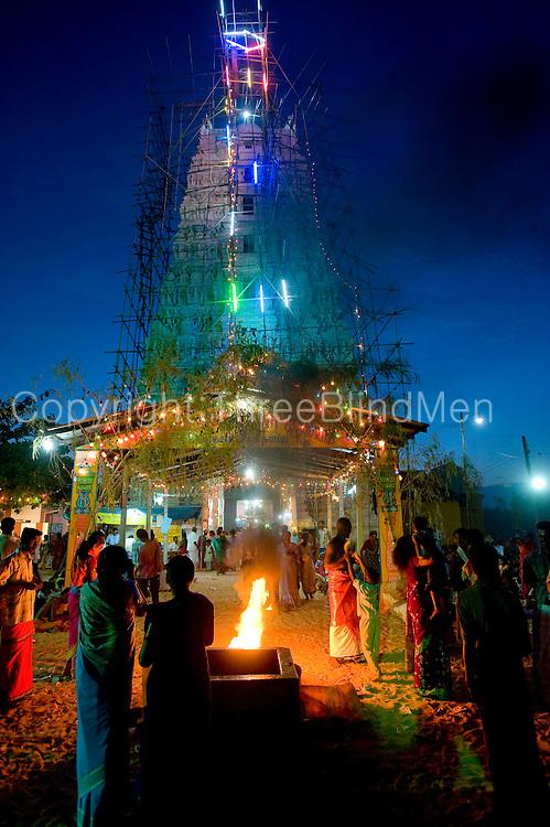 Mamangeshwarar Temple festival.