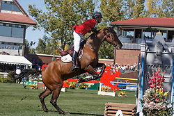 Philippaerts Nicola, (BEL), Challenge vd Begijnakker<br /> BMO Nations Cup<br /> Spruce Meadows Masters - Calgary 2015<br /> © Hippo Foto - Dirk Caremans<br /> 12/09/15