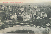 Pogled na Zagreb sa Mošinskijeve ul.  <br /> <br /> Impresum[S. l. : S. n., 1912].<br /> Materijalni opis1 razglednica : tisak ; 9 x 14 cm.<br /> Vrstavizualna građa • razglednice<br /> ZbirkaGrafička zbirka NSK • Zbirka razglednica<br /> Formatimage/jpeg<br /> PredmetZagreb –– Ulica Vladimira Nazora<br /> SignaturaRZG-NAZ-2<br /> Obuhvat(vremenski)20. stoljeće<br /> NapomenaRazglednica je putovala 1912. godine.<br /> PravaJavno dobro<br /> Identifikatori000954499<br /> NBN.HRNBN: urn:nbn:hr:238:818991 <br /> <br /> Izvor: Digitalne zbirke Nacionalne i sveučilišne knjižnice u Zagrebu