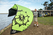 Will Brady of Floras Lake Windsurfing and Kiteboarding rentals