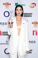 Dua Lip attends the O2 Silver Clef Awards 2019, Grosvenor House, London, UK, Friday 05 July 2019<br /> Photo JM Enternational