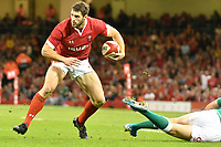 Rugby - 2019 pre-Rugby World Cup warm-up (Under Armour Summer Series) - Wales vs. Ireland<br /> <br /> Jonah Holmes of Wales cuts inside, at Principality (Millennium) Stadium.<br /> <br /> COLORSPORT/WINSTON BYNORTH
