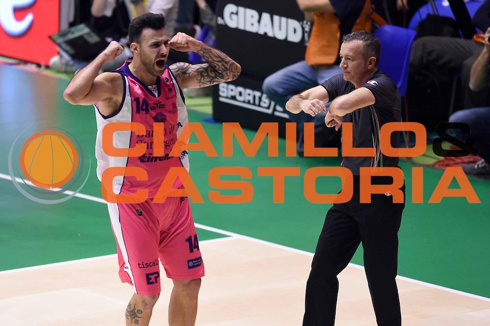 Brian Sacchetti<br /> EA7 Emporio Armani Olimpia Milano - Banco di Sardegna Dinamo Sassari <br /> Poste Mobile Final Eight F8 2017 <br /> Lega Basket 2016/2017<br /> Rimini, 19/02/2017<br /> Foto Ciamillo-Castoria