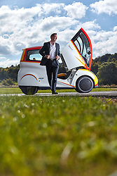 Shell Concept Car at Millbrook Proving Ground October 2016.<br /> Credit: Ed Robinson