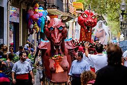 Catalan Weekend, Barcelona, Catalonia, Spain - a fiesta in the Rambla del Poblenou, Barcelona<br /> <br /> <br /> (c) Andrew Wilson | Edinburgh Elite media