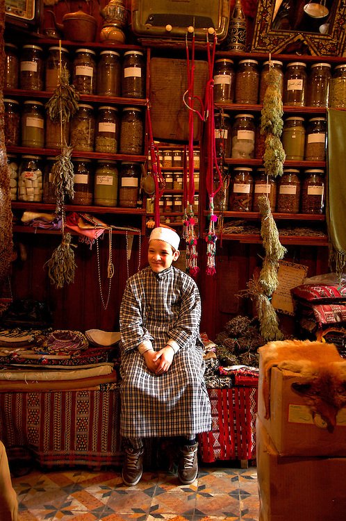 at Le Coin de Henne Herbal Pharmacy, Fes el-Bali, Souq, Medina, Old Town, Fes, Morocco