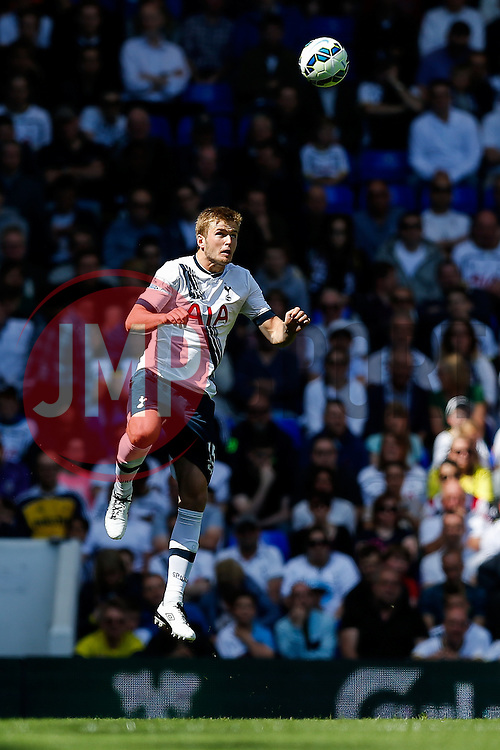 Eric Dier of Tottenham Hotspur in action - Photo mandatory by-line: Rogan Thomson/JMP - 07966 386802 - 16/05/2015 - SPORT - FOOTBALL - London, England - White Hart Lane - Tottenham Hotspur v Hull City - Barclays Premier League.