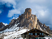 The Giau Mountain Pass (elevation 2236 m)The Dolomites mountains Veneto, Italy