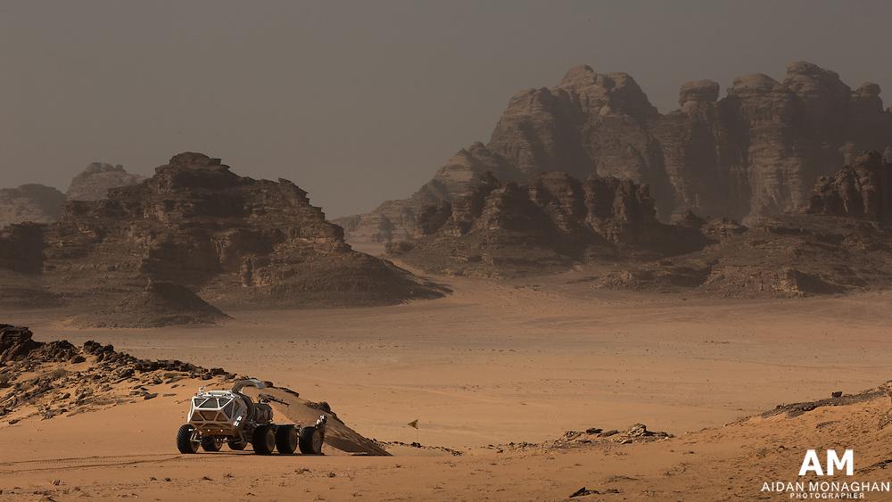 THE MARTIAN<br /> Mars&rsquo; Acidalia Planitia, a vast plain in the Martian northern hemisphere. <br /> Location: Wadi Rum, Jordan