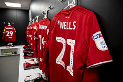 A general view of the changing rooms before the match - Mandatory by-line: Daniel Chesterton/JMP - 15/02/2020 - FOOTBALL - Elland Road - Leeds, England - Leeds United v Bristol City - Sky Bet Championship
