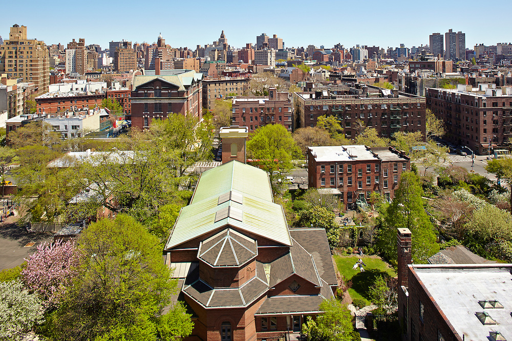 View east from 666 Greenwich Street, 8th floor