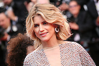 Alice Taglioni at the the Grace of Monaco gala screening and opening ceremony red carpet at the 67th Cannes Film Festival France. Wednesday 14th May 2014 in Cannes Film Festival, France.