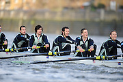 """London; GREAT BRITAIN; Cambridge {bake} crews racing  University Trial Eights for crew selection for 157th Boat Race [April 2011]  raced over the Championship Course Putney to Mortlake  on the River Thames. Wednesday  - 08/12/2010   [Mandatory Credit; """"Photo, Peter Spurrier/Intersport-images].Crews. CUBC. Bake; Middx Station.Bow, Nick EDELMAN, 2. Charlie PITT-FORD, 3. Josh PENDRY, 4. Alex ROSS, 5. Geoff ROTH, 6. Derek RASUSSEN, 7. David NELSON, Stroke. Mike THORP and cox Liz BOX."""