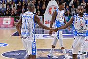 DESCRIZIONE : Campionato 2015/16 Serie A Beko Dinamo Banco di Sardegna Sassari - Umana Reyer Venezia<br /> GIOCATORE : Brenton Petway Christian Eyenga<br /> CATEGORIA : Fair Play<br /> SQUADRA : Dinamo Banco di Sardegna Sassari<br /> EVENTO : LegaBasket Serie A Beko 2015/2016<br /> GARA : Dinamo Banco di Sardegna Sassari - Umana Reyer Venezia<br /> DATA : 01/11/2015<br /> SPORT : Pallacanestro <br /> AUTORE : Agenzia Ciamillo-Castoria/L.Canu