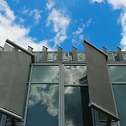 &quot;Deflecting&quot;<br /> <br /> Panels, windows, sky and reflections on the science building at Eastern Michigan University!!<br /> <br /> Architecture: Structures and buildings by Rachel Cohen