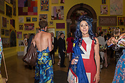 HELEN DAVID, Royal Academy Summer Exhibition party. Burlington House. Piccadilly. London. 6 June 2018