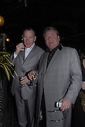ROB MORGAN AND  RAY WINSTONE,The opening gala screening of 'The Proposition' as part of The London Australian Film Festival, Barbican Cinema, London. 2 March 2006. fONE TIME USE ONLY - DO NOT ARCHIVE  © Copyright Photograph by Dafydd Jones 66 Stockwell Park Rd. London SW9 0DA Tel 020 7733 0108 www.dafjones.com