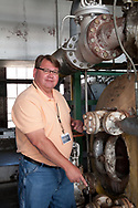 Doug Pollard steam plant operator at Broughton Hospital  Steam Plant