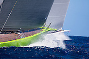 Unfurled and Inoui sailing in the St. Barth's Bucket Regatta.