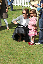TRINNY WOODALL and her daughter LYLA ELICHAOFF at the Macmillan Dog Day in aid of Macmillan Cancer Support held at the Royal Hospital Chelsea, London on 8th July 2008.<br />