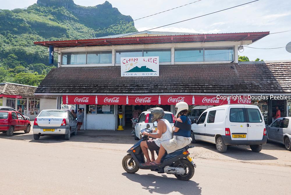 Chin Lee store, Vaitape, Bora Bora, French Polynesia