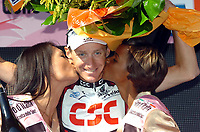 Sykkel<br /> Giro d'Italia<br /> 20.05.2007<br /> Foto: imago/Digitalsport<br /> NORWAY ONLY<br /> <br /> Kurt Asle Arvesen (Norwegen / CSC) gewinnt die 8. Etappe des Giro d Italia 2007