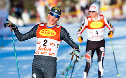 27.01.2017, Casino Arena, Seefeld, AUT, FIS Weltcup Nordische Kombination, Seefeld Triple, Langlauf, im Bild Samuel Costa (ITA) // Samuel Costa of Italy during Cross Country 5 km Gundersen Race of the FIS Nordic Combined World Cup Seefeld Triple at the Casino Arena in Seefeld, Austria on 2017/01/27. EXPA Pictures © 2017, PhotoCredit: EXPA/ JFK