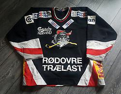 #36 JONAS ANDERSSON, Rødovre Migthy Bulls, Originale 1998-1999 Danske Mester, kamptrøje.