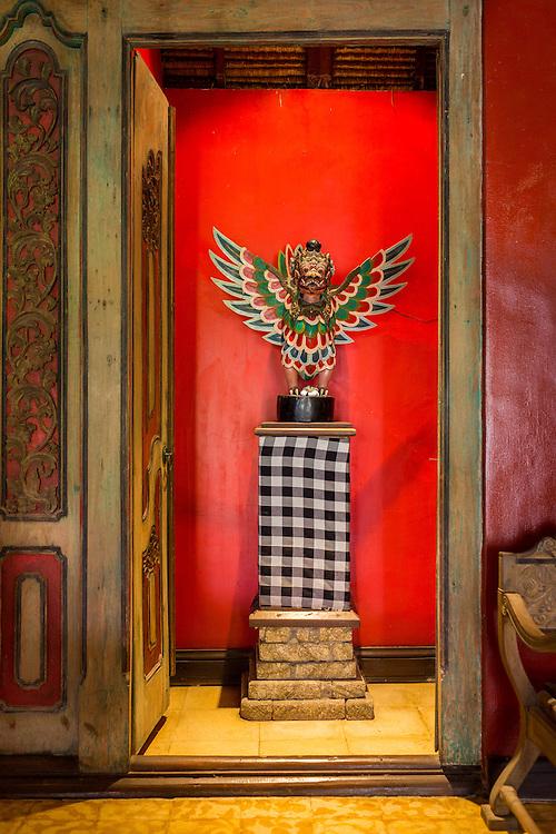 Bale Puputan Dining Chamber at Tugu Hotel Bali.