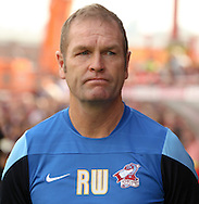 Scunthorpe manager Russ Wilcox before the Sky Bet League 1 match at Ashton Gate, Bristol<br /> Picture by Tom Smith/Focus Images Ltd 07545141164<br /> 06/09/2014