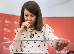 © Licensed to London News Pictures. 20/07/2015. London, UK. Labour leadership contender Liz Kendall giving a speech at Livity in Brixton to Labour supporters. Photo credit : James Gourley/LNP