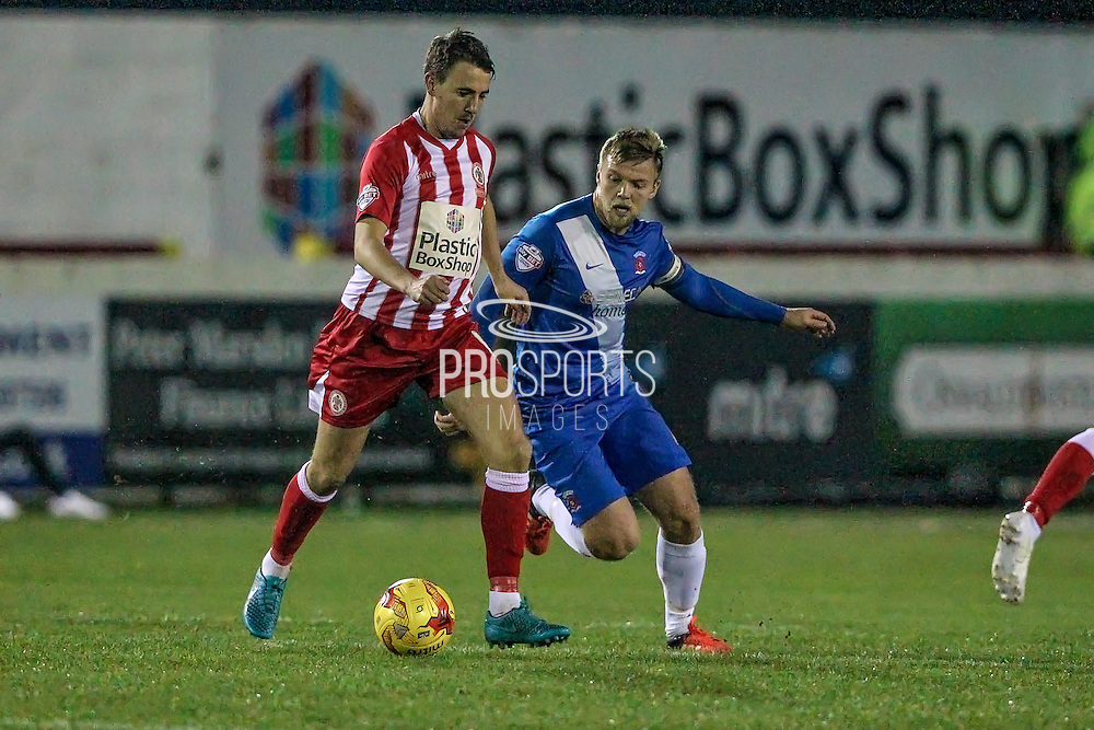 Sean McConville (Accrington Stanley) during the Sky Bet League 2 match between Accrington Stanley and Hartlepool United at the Fraser Eagle Stadium, Accrington, England on 19 January 2016. Photo by Mark P Doherty.
