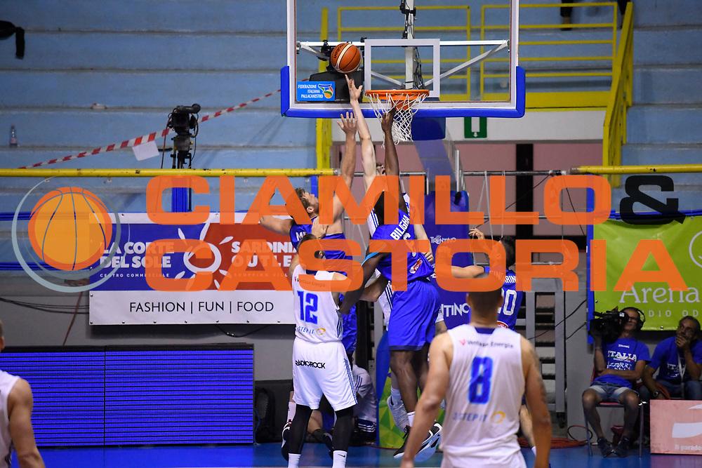 Paul Biligha<br /> Italia - Finlandia<br /> Nazionale Italiana Maschile<br /> Torneo Sardegna a Canestro 2017<br /> Cagliari 11/08/2017<br /> Foto Ciamillo-Castoria
