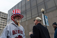 People on Inauguration day<br />