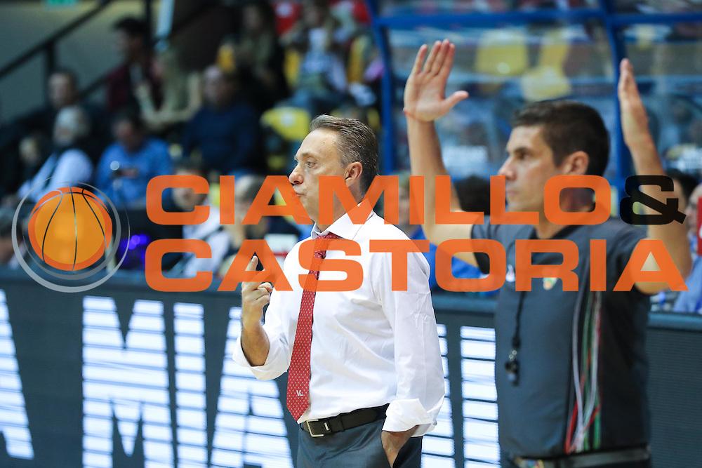 Red October Cantù VS Consultinvest Pesaro LBA serie A 3^ giornata stagione 2016/2017 Desio 16/10/2016<br /> <br /> Nella foto: Piero Bucchi