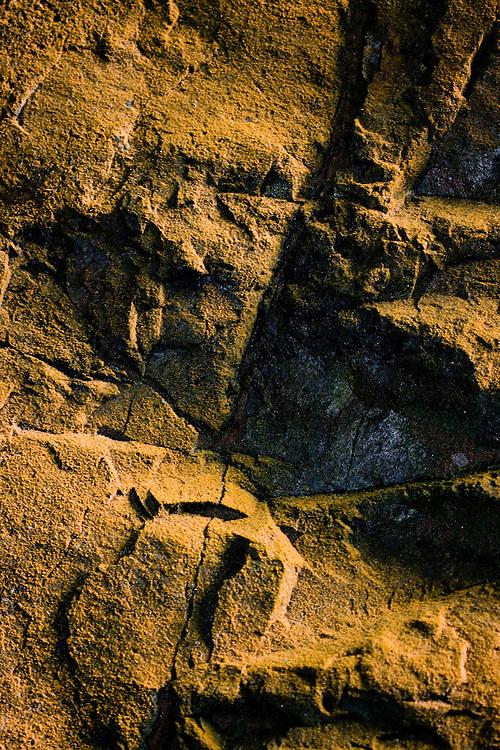 MACRO SHOTS OF ROCKS AND STONES IN TOTORITAS, LIMA, PERU