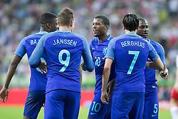 01-06-2016 POL: Polen - Nederland, Gdansk<br /> Oefenwedstrijd dat met 2-1 wordt gewonnen / Vincent Janssen (Holandia) scoort<br /> <br /> <br /> ***NETHERLANDS ONLY***