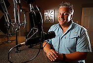 Staff Photo by Dan Henry / The Chattanooga Times Free Press- 5/25/16. Ted Gocke, the morning on-air personality for J-103, speaks about his involvement helping secure acts for Riverbend Music Festival's Faith and Family night while in the radio station's studio on Thursday, June 2, 2016.