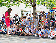KATE Visits Blessed Sacrement School, London