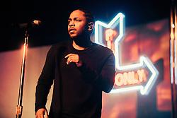 Kendrick Lamar performs at The Fox Theater - Oakland, CA - 11/15/15