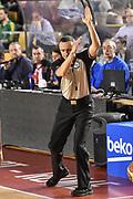 DESCRIZIONE : Campionato 2014/15 Virtus Acea Roma - Enel Brindisi<br /> GIOCATORE : Alessandro Vicino<br /> CATEGORIA : Arbitro Referee Mani<br /> SQUADRA : AIAP<br /> EVENTO : LegaBasket Serie A Beko 2014/2015<br /> GARA : Virtus Acea Roma - Enel Brindisi<br /> DATA : 19/04/2015<br /> SPORT : Pallacanestro <br /> AUTORE : Agenzia Ciamillo-Castoria/GiulioCiamillo
