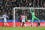 Manchester United Sergio Romero during the The FA Cup match between Huddersfield Town and Manchester United at the John Smiths Stadium, Huddersfield, England on 17 February 2018. Picture by George Franks.