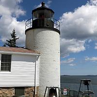 The Bass Harbor Head Lighthouse, Acadia National Park, Mount Desert Island, Maine, USA