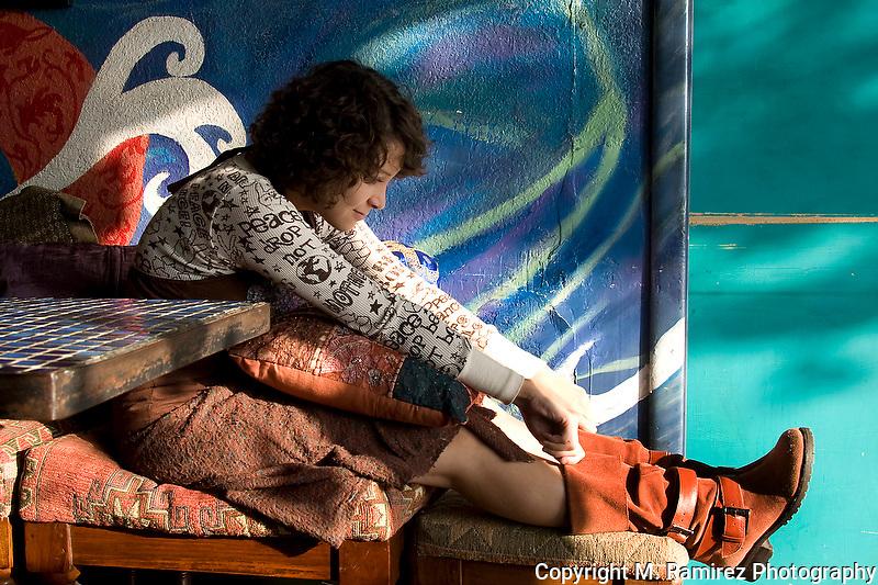 Gaby Moreno at Tsunami Coffeshop in Los Angeles, CA.